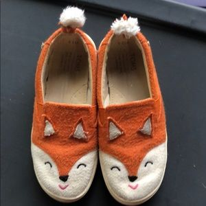 Toms fox shoes!!! 12.5